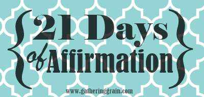 days of affirmation