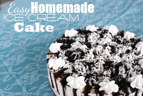 Ice Cream Cake Pic