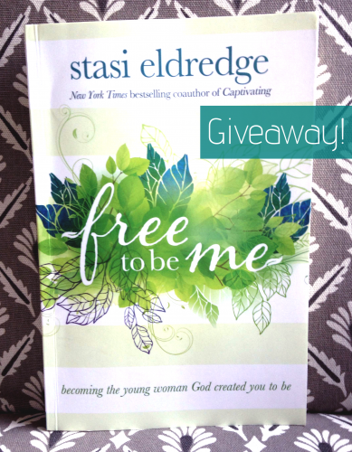 Free to be me giveaway