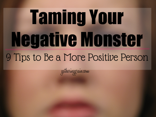 taming negative monster